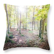 magical moment II Throw Pillow
