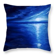 Magical Moonlight Throw Pillow