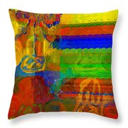 Magical Multi Throw Pillow