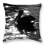 Magical Pelican Throw Pillow
