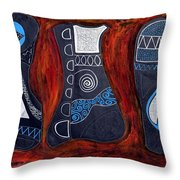 Magical Pieces Of Reality Throw Pillow