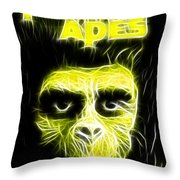Magical Planet Of The Apes Throw Pillow