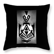 Magical Sign For Curse Removal Astral Practice Throw Pillow