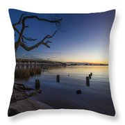 Magical Sunset II Throw Pillow