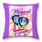 Gay Magic Throw Pillow