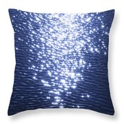 Magical Wave Throw Pillow