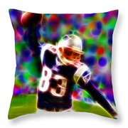 Magical Wes Welker  Throw Pillow