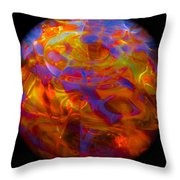 Magiks In Sphere Throw Pillow