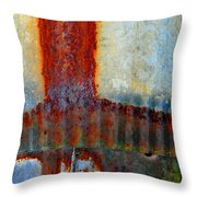 Magma Throw Pillow