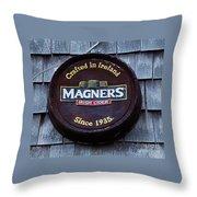 Magners Irish Cider Sign Throw Pillow