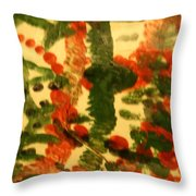 Magnetic - Tile Throw Pillow