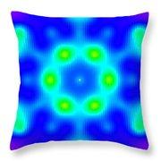 Magnetic Monopole Throw Pillow