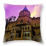 Magnificent Church Of Biblian II Throw Pillow
