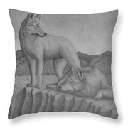 Magnificent Dingo Throw Pillow