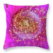 Magnificent Flower Throw Pillow
