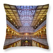 Magnificent Mortlock Throw Pillow