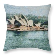 Magnificent Sydney Opera House Throw Pillow
