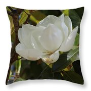 Magnolia 3 Throw Pillow