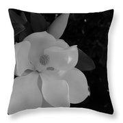 Magnolia And Blossom Throw Pillow