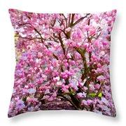 Magnolia Beauty #14 Throw Pillow