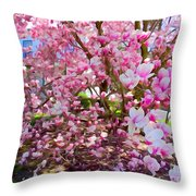 Magnolia Beauty #15 Throw Pillow