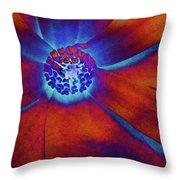 Magnolia Electric Throw Pillow