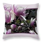 Magnolia Fantasy 2 Throw Pillow