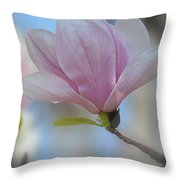 Magnolia Flower IIi Throw Pillow