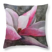 Magnolia In Shadow Throw Pillow