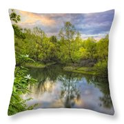 Magnolia Overlook Throw Pillow