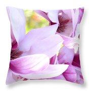 Magnolia Time Throw Pillow