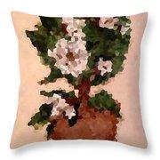 Magnolia Topiary IIi  Throw Pillow