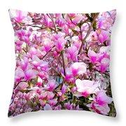 Magnolia Tree Beauty #1 Throw Pillow