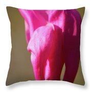 Magnolia's Torch Throw Pillow