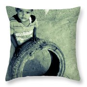 Magpagulong Kita Throw Pillow