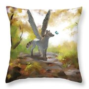 Mahli Throw Pillow by Brandy Woods
