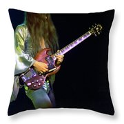 Mahogany Rush Seattle #21 Enhanced Throw Pillow