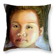 Mai Ling Throw Pillow