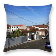 Maia - Azores Islands Throw Pillow