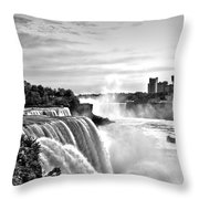 Maid In The Mist Throw Pillow