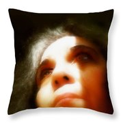 Maid Of Constant Sorrow   Self-portrait Throw Pillow