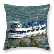 Maid Of The Mist 1 Throw Pillow