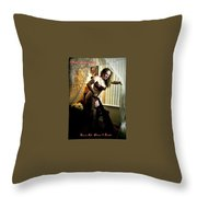 Maid To Order Throw Pillow