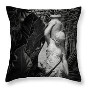Maiden Water Bearer Throw Pillow