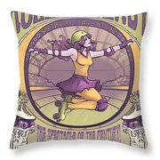 Maids Of Iron And Lace Throw Pillow