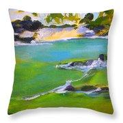 Maihai'ula North Beach Throw Pillow
