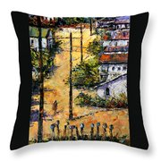Mail Boxes Chavez Revine Throw Pillow