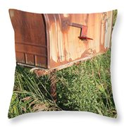 Mail Throw Pillow