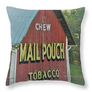 Mail Pouch Special Throw Pillow