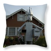 Mailbox King Throw Pillow